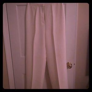 Off white dress pants